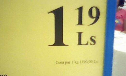 Vai zini, cik maksā viens kilograms dvieļu?