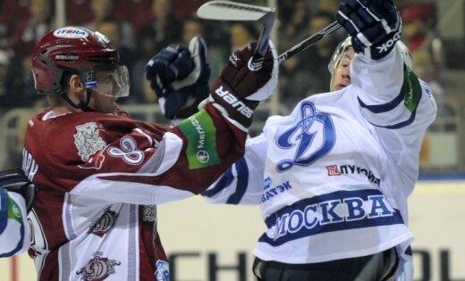 Rīgas 'Dinamo' zaudē Maskavas 'Dinamo' un turpina neveiksmju sēriju