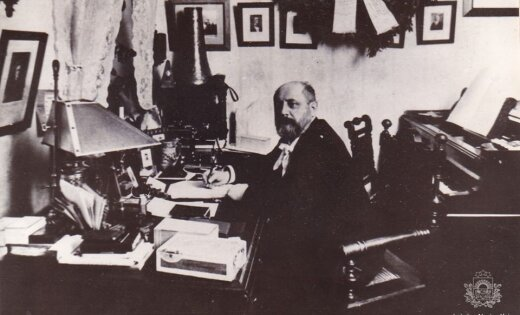 Arhīva foto: Dižajam komponistam Jāzepam Vītolam – 155
