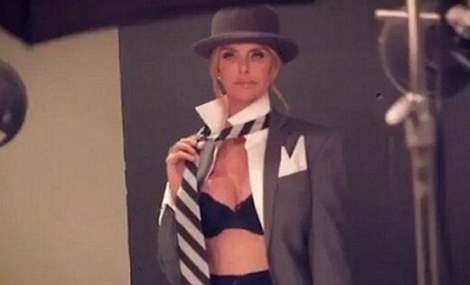54-летняя экс-супруга создателя Playboy снялась для обложки