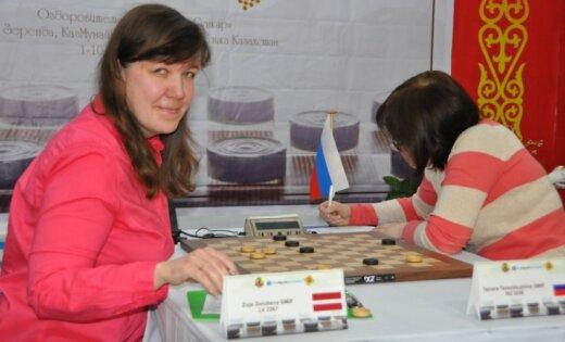 Zoja Golubeva, draughts