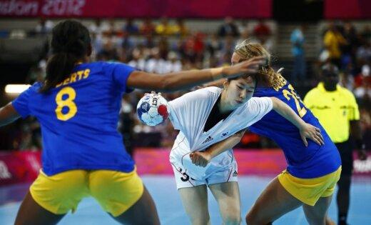 XXX Vasaras olimpisko spēļu sieviešu handbola turnīra spēļu rezultāti (05.08.2012)