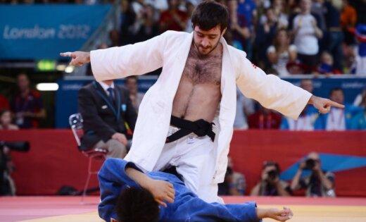 Krievijas džudists Isajevs izcīna zeltu svara kategorijā līdz 73kg