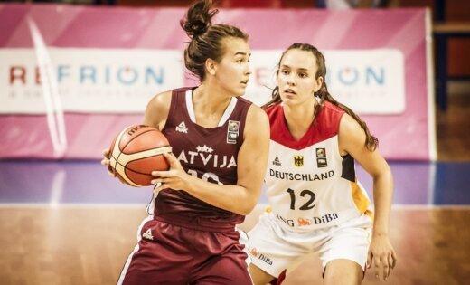 Latvijas U-18 meiteņu izlase piedzīvo zaudējumu Eiropas čempionāta pusfinālā