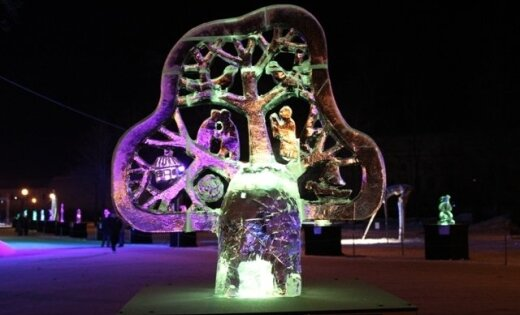 Noskaidroti Ledus skulptūru festivāla uzvarētāji