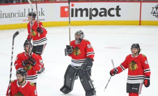Вматче НХЛ наворотах сыграл бухгалтер «Чикаго»— Хоккей