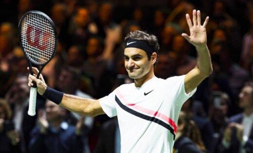 36-летний Федерер — самый возрастной лидер мирового рейтинга в истории тенниса