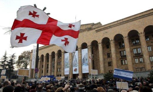 Грузинские учителя провели акцию в поддержку русского языка