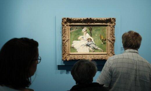 Foto: Pirmo reizi publikas acīm skatāma privāta Monē mākslas darbu kolekcija