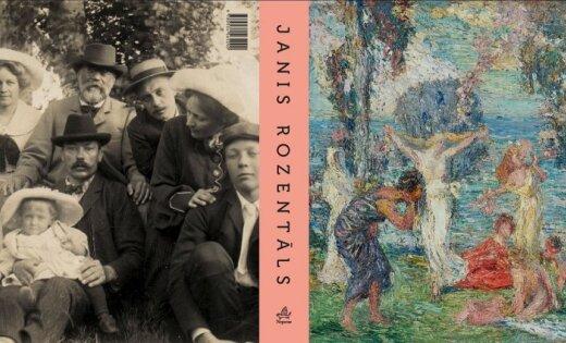 Izdots monogrāfisks albums 'Janis Rozentāls'