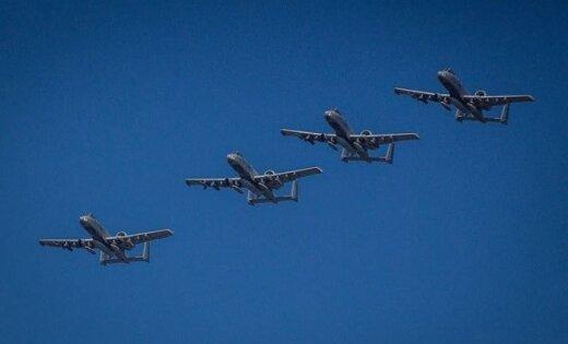 ВВС США готовится ксовместным сЭстонией учениям