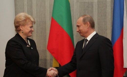 Песков неподтвердил объявление президента Литвы оякобы ультиматуме Владимира Путина