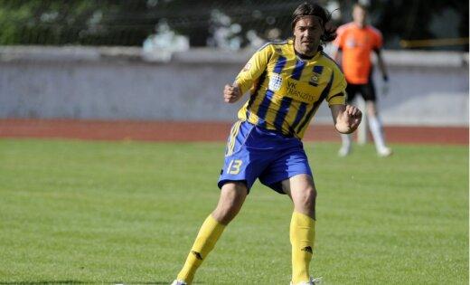 'Ventspils' futbolisti Kurzemes derbijā ar minimālu rezultātu uzvar 'Liepājas metalurga' vienību