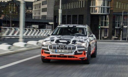 'Audi' līdz 2025. gadam plāno pārdot gandrīz miljonu elektromobiļu; šogad prezentēs 'e-tron'