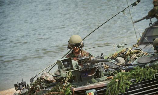"""""""Солнечный свет убивает плесень"""". Латвийский взгляд на учения НАТО Saber Guardian изнутри"""