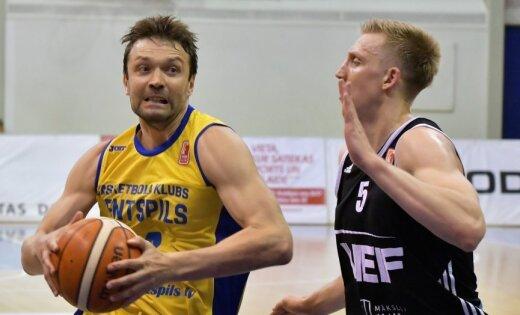 'VEF Rīga' ar drošu uzvaru sāk LBL finālsēriju pret 'Ventspili'