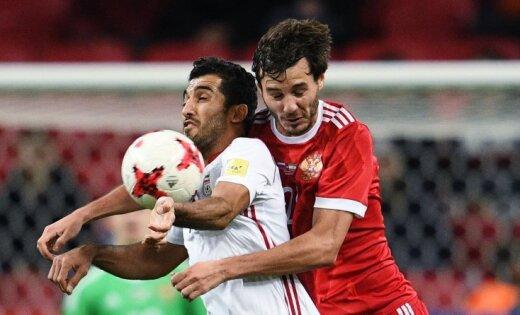 ВИДЕО: Сборная России в Казани сыграла вничью со сборной Ирана