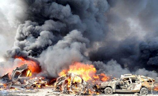 Sprādzienā Damaskas piepilsētas restorānā pieci bojāgājušie
