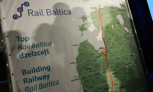 Ukraina varētu pievienoties 'Rail Baltica' projektam, lēš ministrs