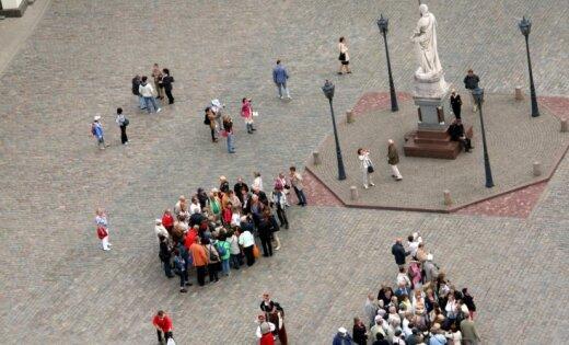 Увеличилось число иностранных туристов, посещающих Латвию