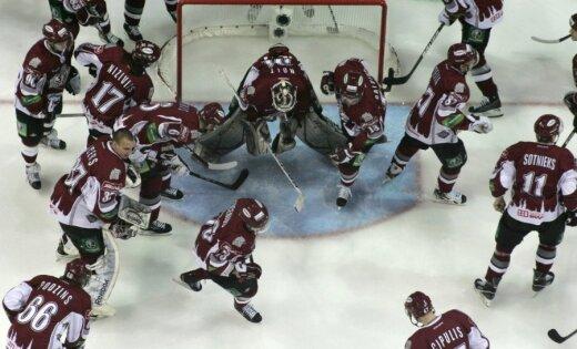 KHL Gagarina kauss: Rīgas 'Dinamo' - 'Torpedo' 3:1 (spēle noslēgusies)