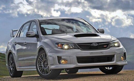Новая Subaru WRX может получить электрическую турбину