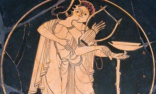 Оргие в древние времена видео