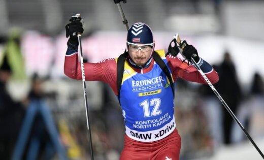 Rastorgujevs sensacionāli izcīna otro vietu Pasaules kausa posmā Somijā