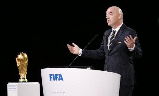 Infantīno atkārtoti kandidēs uz FIFA prezidenta amatu