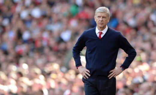 'Arsenal' trenerim Vengeram draud otrā diskvalifikācija 12 mēnešu laikā