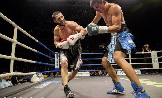 ФОТО, ВИДЕО: В Риге состоялось зрелищное бойцовское шоу LNK Fight Night 7