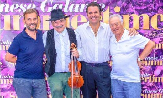 Foto: 'Klezmerata Fiorentina' un Reinis Zariņš festivālā 'Summertime'
