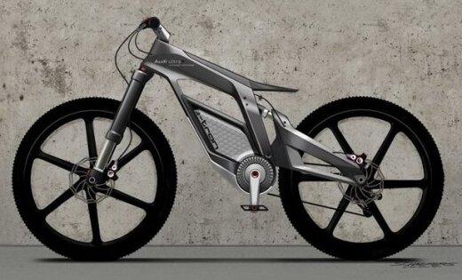 Audi знакомит с карбоновым электро-велосипедом e-bike
