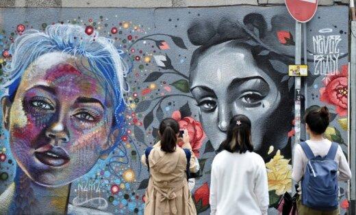 Foto: Ieskats Eiropas lielākajā ielu mākslas festivālā Bristolē
