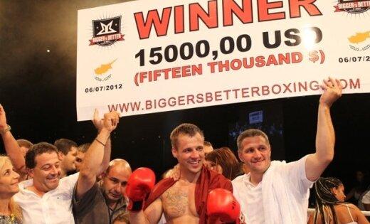 'Bigger's Better' boksa turnīra superfināls varētu notikt Rīgā