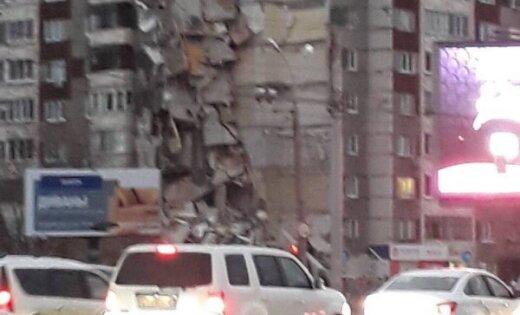 В Ижевске частично обрушилась девятиэтажка: шестеро погибших