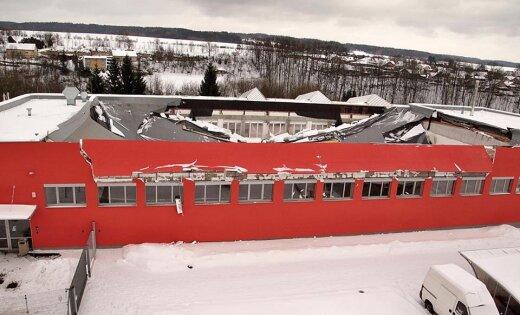 ВЧехии обвалилась крыша спортзала, есть раненые