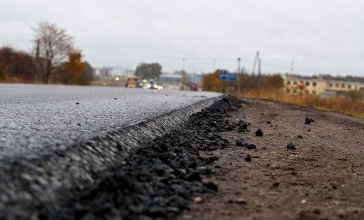 В целях безопасности будет закрыта дорога Огре-Тинужи