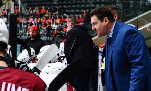 Первые контрольные игры сборная Латвии по хоккею проведет под  Первые контрольные игры сборная Латвии по хоккею проведет под руководством Милюнса
