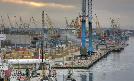 Клайпеда лидирует по грузообороту среди портов стран Балтии