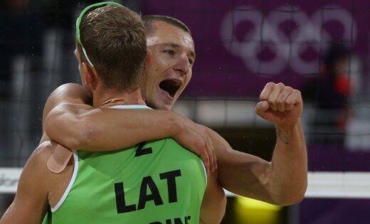 Pļaviņš/Šmēdiņš izcīna olimpiskās bronzas godalgas