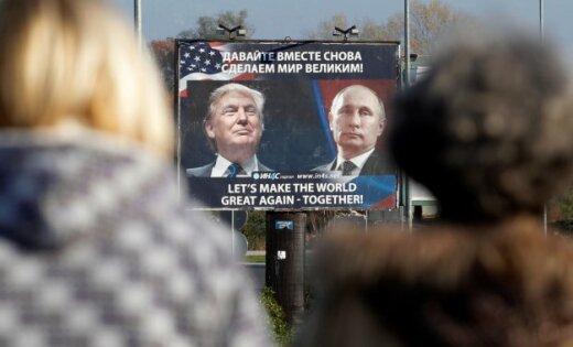 Янезнаю В.Путина иневеду дел в РФ — Трамп