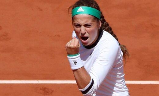 Ostapenko Sinsinati WTA turnīru iesāks ar spēli pret Šarapovu