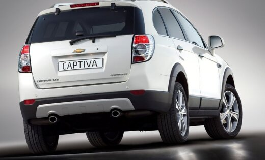 Длительный тест-драйв Chevrolet Captiva: первая неделя