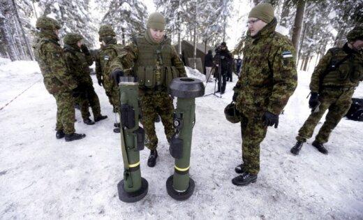 Бойцов элитной части армии Эстонии уличили впьянстве