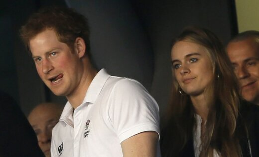 Принц Гарри подчеркнул  день рождения сэкс-подружкой