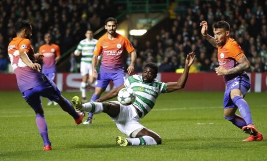 «Селтик» и«Манчестер Сити» выдали суперрезультативную ничью