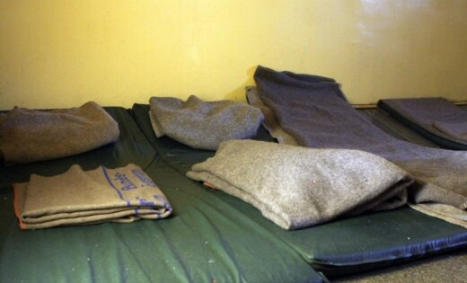 В холодную погоду рижские приюты будут работать круглосуточно