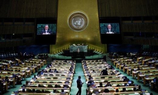 Запад отменой права вето желает задавить РФ массой— Битва заООН