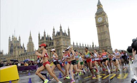 Dace Lina ieņem 98.vietu maratonā; ar olimpisko rekordu uzvar Gelana